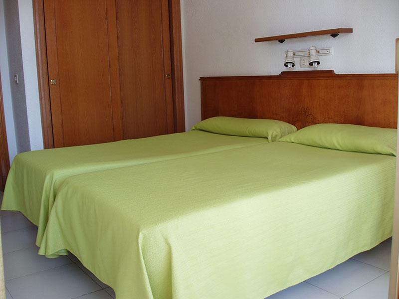dormitorio apartamentos benidorm