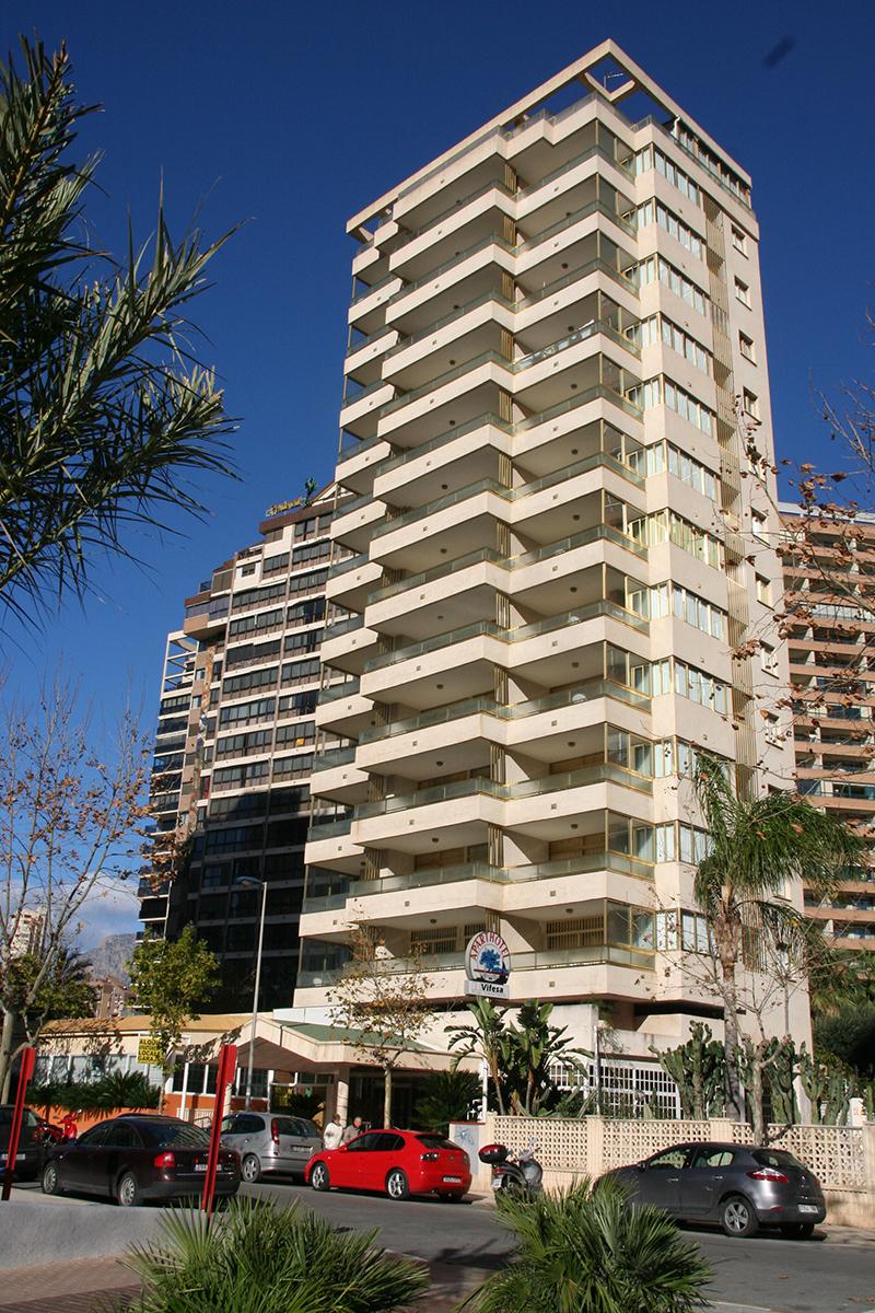 Fachada Apartamentos Maria Victoria Benidorm