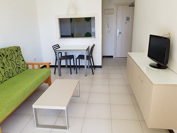 Apartamento 1 dormitorio para 2 personas